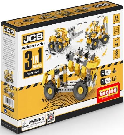 Конструктор ENGINO JCB10 JCB Набор из 3 моделей. Самосвал<br>
