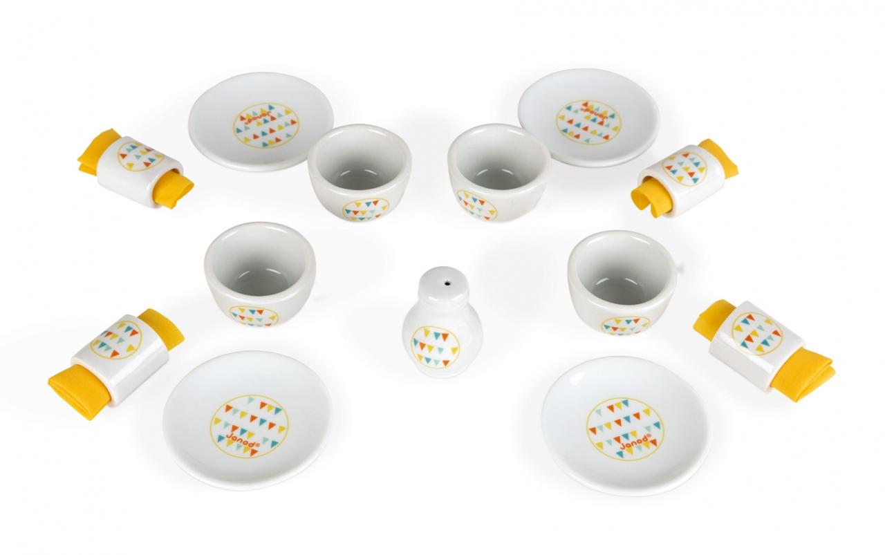 Набор детской посуды JANOD J06591 Сервиз обеденный Happy Day<br>