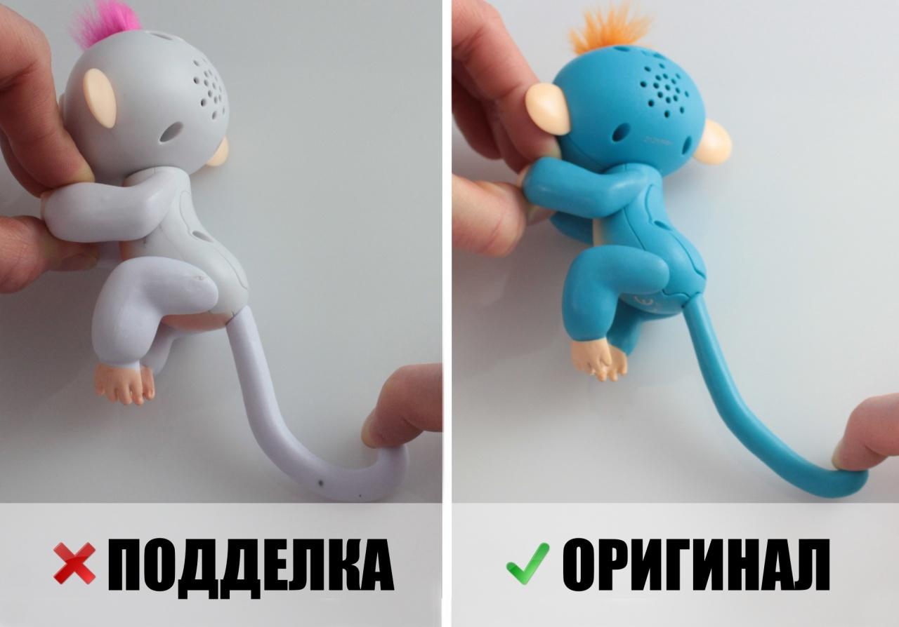Интерактивные обезьянки Fingerlings: как отличить оригинал от подделки
